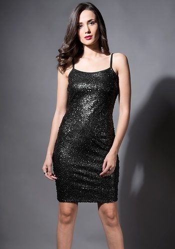 Party Goals Served Up Straight! 🥂 SHOP THE PARTY EDIT - https://goo.gl/u963Av  Gold Bell Sleeve Sequin Bodycon Dress ₹ 2400  #faballey #women-clothing #dress #roposo #Beauty #StreetStyle #street-wear-fashion #fashion-addict #party-edit #party #party-wear #streetfashion