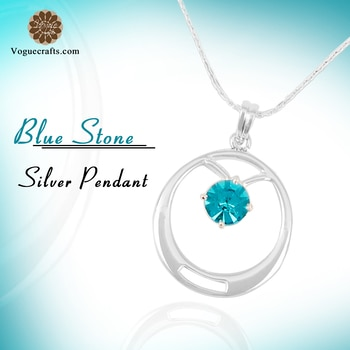 A distinctive piece of sterling silver 925 jewelry, the Blue Stone Silver Pendant is an apparent manifestation of ingenious craftsmanship. ❤️ #jewelry #handmade #craftsman #designs #jewels #love #jewelrylover #pendant #handmade #silver #style #weddding #fashion  View More: http://bit.ly/2C0jmwp