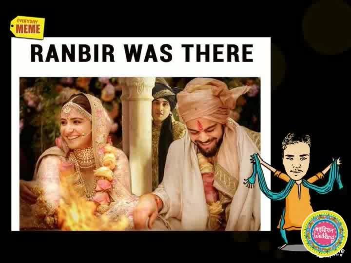 #indian #weddding #virushka #viratkohli #anushkasharma #and #ranbirkapoor 😂 #indianwedding