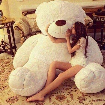I WANT THIS SO BAD!!!!!😍😍😍 Relationship goals! 😍😍❤ I really want someone to gift me this. Like it if you want it too! #teddybear #relationshipgoals #white #love  #followformore