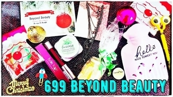 Beyond Beauty Bag December 2017 | 699 Edition | 2 Star Products | Unboxing & Review | *Giveaway*  December Beyond Beauty Bag has two amazing Star Products in its 699 Edition. It has the Bella voste Chubby Stick in shade of choice, which is one of my personal favourites. And it has a 24k Gold serum from Elixir Secrets that seems very promising from the ingredients list. It has choice in all other skincare product i.e. Foot cream, lip balm, lip scrub and mask. The Lifestyle products are also very useful ones and yet so pretty. And the entire box came very nicely packaged along with some cute decor n lifestyle pieces. I absolutely loved this box. Not only the total worth more than triple the price tag, it was a very well curated Box. So I would definitely recommend this box to you all! 🌲🎅 Please watch the full unboxing and review video on my channel now ❤ Link in bio! 🌲🎅 To place order : Instagram : https://www.instagram.com/beyond_beauty_bag/ WhatsApp : 8884728395 Mode of payment : PayTm Price : Rs. 699 + 90 for shipping 🌲🎅 #beyondbeautybag #allinone #beautybox #affordable #giftsforher #chritmasgift  #subscriptionbox #monthlysubscription #honestreviews #unboxingandreview #skincare #makeup #cute #minions  #lifestyle #hotwaterbag #organiser #chritmasdecor #subscriptionreviews #subscriptionboxindia  #youtuber #sonammahapatra