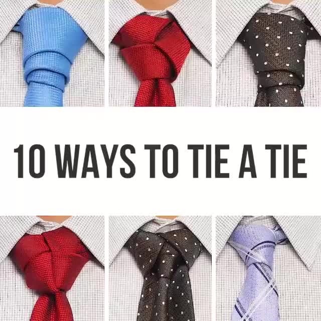 10 ways of tie