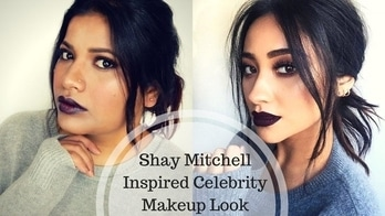 Shay Mitchell Vampy Fall or Winter Inspired Celebrity Makeup Tutorial Episode 5     Hi guys after a long vacations I am back to business.. I have so many pre recorded videos which I need to upload so from now on you will definitely going see so many new videos..don't forget to subscribe to my channel..I would mean a world to me if you guys subscribes to my YouTube channel..😘  #stylefromcloset  #delhibloggergirl  #youtuber  #roposotalenthunt  #roposogal