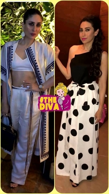💜 STYLE ON MY MIND 💜 #kapoorsisters doing timeless ,classy monochrome look. who's your star?😍😍 #designer-wear #fashion2017 #style2017 #styletuteorials #trend-alert #fashiondiva#glamourworld#monochromelook #beautylook#bollywoodstyle #celebrityfashion #indiancelebrity#roposo-style #roposo-makeupandfashiondiaries #roposofashionpost#roposofashionbloggernetwork #roposodelhi#roposofashion#delhifashionbloggernetwork #thediva