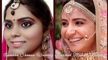 This is the most different look I came across with.So I tried to recreate it.I hope you will love it  #anushkasharma #anushkasharmawedding #viratkohli #anushkasharmafans #bridal-jewellery #bridalmakeup #makeupartist #mua #inspiredmakeup #indianbride #bloggerlife #weddingdress #weddinglook #weddingthings #blogger #beautyblogger #makeupblogger #roposo-style #roposotalenthunt #instablogger #fashionblogger #kolkatablogger #kolkatastyle #thebongolook #virushka #virushkawedding