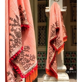 Embroidered Pink Khadi Cotton Stole - Mf903  SHOP NOW : http://bit.ly/2B3a3N0 Rs. 875/-  #maiapnifavuritehoon #letsnacho #music #be-fashionable #winter #bollywood #makeup #indian #fukrey #cool #blogger #photography #ilovewinters #ropo-love #beats #ropo-style #roposo-style #model #followme #beauty #fashion #roposo #swagseswagat #ropo-good #ootd #roposogal #love #soroposo #roposotalenthunt #bindaas #fashion #style #stylish #love #socialenvy #PleaseForgiveMe #me #cute #photooftheday #nails #hair #beauty #beautiful #instagood #instafashion #pretty #girl #girls #eyes #model #dress #skirt #shoes #heels #styles #outfit #purse #jewelry #shopping #stole #fleaffair