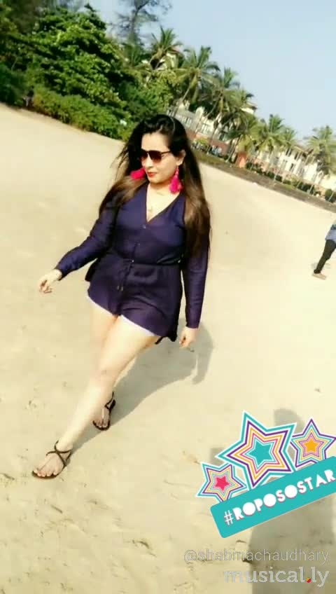 #goadiaries #miramarbeach #maiapnifavuritehoon #fashionstatement #ropo-beauty #different-is-beautiful #denim shorts #tailcutkurti #so-ro-po-so #roposo-style #roposogal #trendingonroposo #fashionforwomen #be-fashionable #fashion,bollywood,celebrityfashion #roposostar