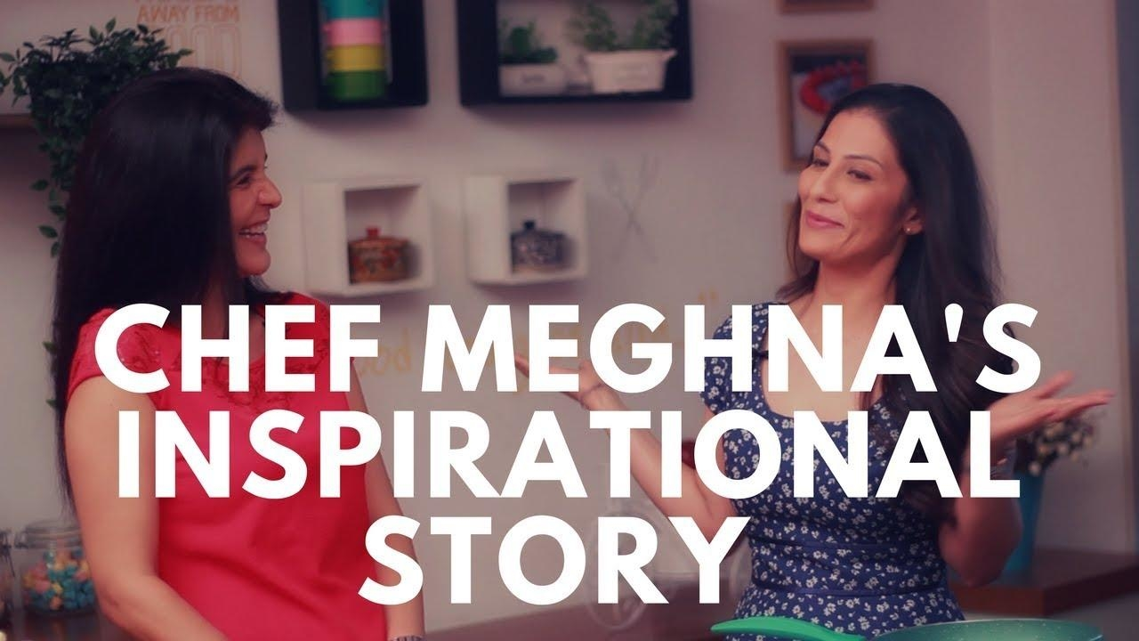 #chefMeghna 's inspirational journey   From Banker to Baker and From Fat to Fab