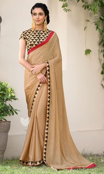 Beige Designer Long Blouse Saree  • Long Blouse Party Wear Saree • Saree Fabric : Georgette Jacquard • Blouse Fabric : Georgette Jacquard • Specification: Saree length is 5.5 meters; Saree width is 110 cm; Blouse fabric length is 1.40 meters. • Blouse is as shown in the picture. In-skirt fabric is not included. • Stitching: Unstitched blouse. Blouse can be stitched upto Size 50.  SKU: SAEBRVSD3206 Rs. 2,499  #partywear #saree   #wedding-suits-designer #wedding #wedding-outfits#lehenga-for-#wedding #weddinglook#weddinglook #weddinglehngas #wedding-lehnga #wedding #wedding-bride #wedding-dress #weddingday#weddinggoals#weddingideas#weddingthings #happynewyears #happynewyear2018 #christmasparty #x-mas  http://www.ishimaya.com/sarees/all-collections/party-wear-long-blouse-sarees/beige-designer-long-blouse-saree.html