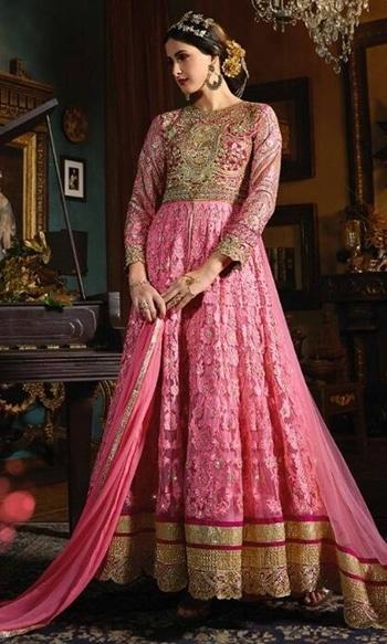 Pink Designer Salwar Kameez  • Party wear Designer Salwar Kameez Suit • Fabric : Bangalori Silk & Heavy Net • Salwar Fabric : Shantoon • Inner Fabric : Satin • Dupatta Fabric : Chiffon • Size : Semi-Stitched (customizable Upto size-44)  SKU: SUEBRSYB-S072 Rs. 6,099  #partywear #designer #salwarkameez #suit   #wedding-suits-designer #wedding #wedding-outfits#lehenga-for-#wedding #weddinglook#weddinglook #weddinglehngas #wedding-lehnga #wedding #wedding-bride #wedding-dress #weddingday#weddinggoals#weddingideas#weddingthings #happynewyears #happynewyear2018 #christmasparty #x-mas  http://www.ishimaya.com/salwar-kameez/occasion/party-wear/embroidered-designer_1-doublelayersuit-pink_1-roundneck_1.html?price=100-