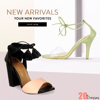 The perfect pair of high heels can transform any outfit and our range has you covered with this season's must-have styles!
