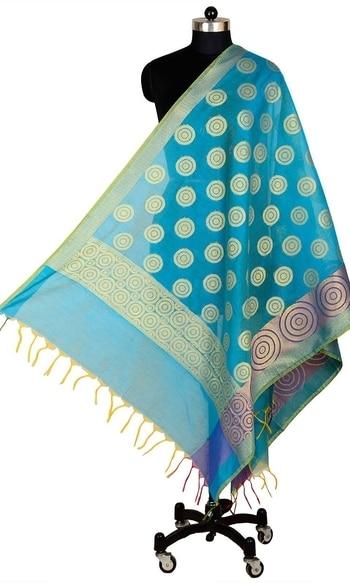 Blue Color Banarasi Silk Dupatta  • Pure Banarasi Silk Dupatta • Fabric : Banarasi Silk • Dupatta Size : 100 inches X 36 inches  SKU: DUP0081-Blue Rs. 799  #dupatta  #happynewyears #happynewyear2018 #christmasparty #x-mas  http://www.ishimaya.com/dupattas/blue-color-banarasi-silk-dupatta-15099.html