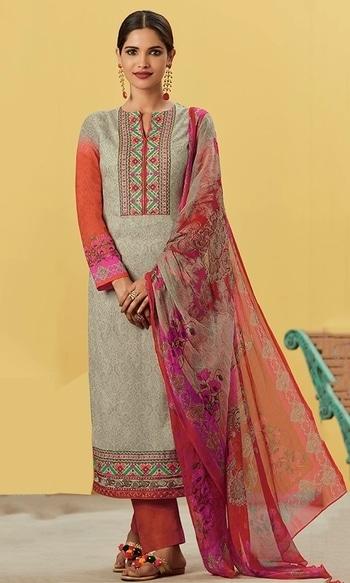Grey Cotton Wear Embroidered Suit  • Cotton Wear Embroidered Suit • Fabric : Lawn Cotton • Salwar Fabric : Cotton Cabric • Dupatta Fabric : Chiffon • Size : Semi-Stitched (customizable Upto size-44)  SKU: SUEKIM7610 Rs. 4,099  #embroidered #suit   #wedding-suits-designer #wedding #wedding-outfits#lehenga-for-#wedding #weddinglook#weddinglook #weddinglehngas #wedding-lehnga #wedding #wedding-bride #wedding-dress #weddingday#weddinggoals#weddingideas#weddingthings #happynewyears #happynewyear2018 #christmasparty #x-mas  http://www.ishimaya.com/salwar-kameez/multicolor_3.html