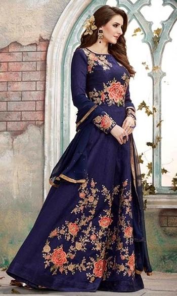 Blue Designer Wear Anarkali Suit  • Designer Wear Anarkali Suit • Fabric : Silk • Salwar Fabric : Shantoon • Dupatta Fabric : Georgette • Inner Fabric : Soft Silk • Size : Semi-Stitched (customizable Upto size-44)  SKU: SUENMBE1591 Rs. 6,199  #designer  #anarkali #suit   #wedding-suits-designer #wedding #wedding-outfits#lehenga-for-#wedding #weddinglook#weddinglook #weddinglehngas #wedding-lehnga #wedding #wedding-bride #wedding-dress #weddingday#weddinggoals#weddingideas#weddingthings #happynewyears #happynewyear2018 #christmasparty #x-mas  http://www.ishimaya.com/salwar-kameez/occasion/party-wear/party-designer_1-fancyfabrickameez-roundneck_1.html