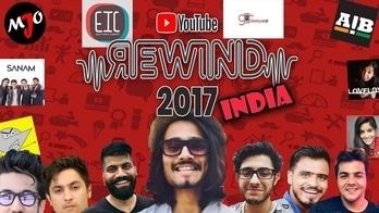 YouTube India Rewind 2017 ft. BB Ki Vines Amit Bhadana| Indian Youtubers in YouTubeRewind 2017