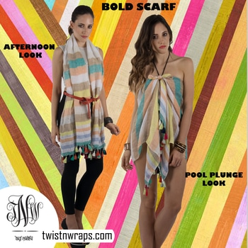 Scarf or beach Drape . Follow Twist N Wraps for numerous styling tip to style witrh your scarf . Also shop these beautiful exclusively high quality scarves now with https://www.twistnwraps.com/product-collections/summer-collection  #scarves #tnwscarves #tnwscarf #scarfbytwistnwraps #twistnwraps #scarfstyle #scarfshop #scarfmakesthedifference  #youtubber #blogger #fashionblogger #styingtips #beachstyle #beachfashion #stylewithscarf #styles #roposolove #fashiobytnw #love #like #sale #clearnace #discounts