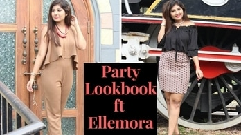 PARTY LOOKBOOK | SHOPPING HAUL ft ELLEMORA