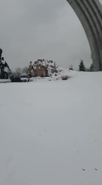 heavy snowfall...👢 #roposo#tourist#beaches#snowfall#photography