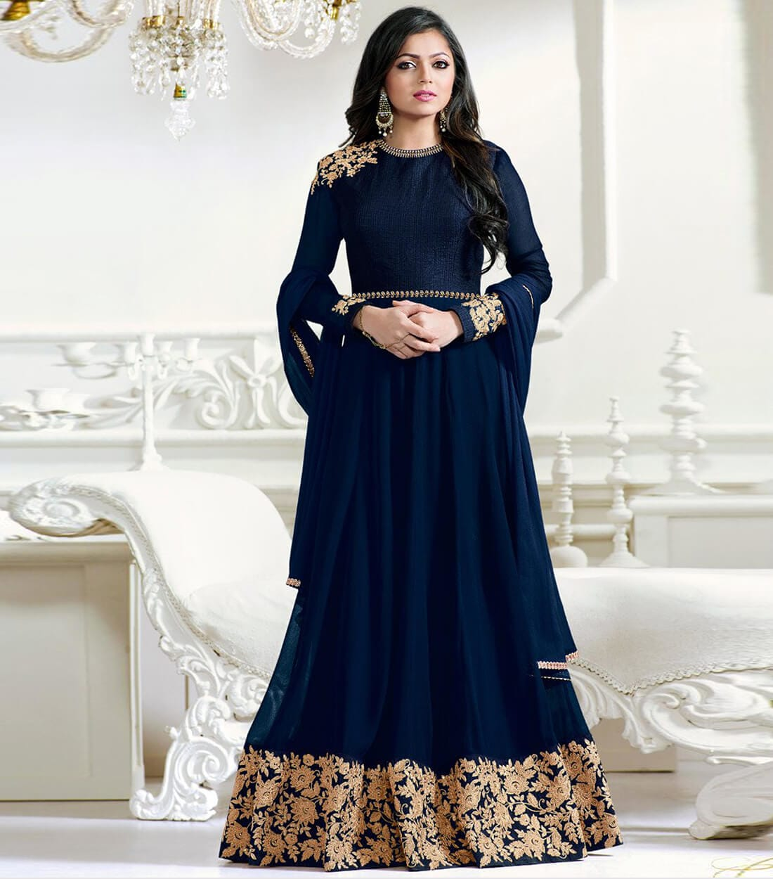 Product price :-1249 https://www.zeelshops.com/shop.php?pid=461&pname=Blue-Georgette-Embroidered-Semi-Stitched-Salwar-Suit Contact as to 9924430008 or whatsapp for more details   @geetfashion  #saree #dress #dress #dresslikeagirl #Bollywood #bollywoodactress #new-style #newdress #girls #girlswear