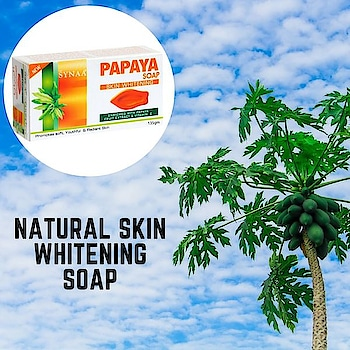 The skin whitening soap you need. Synaa Papaya Soap contains fresh papaya extracts which helps promote soft, youthful and radiant skin. Shop online now @ synaa.com  #synaa #soap #papapyasoap #beautysoap #skinwhitening #skinlightening #naturalsoap #naturalskincare