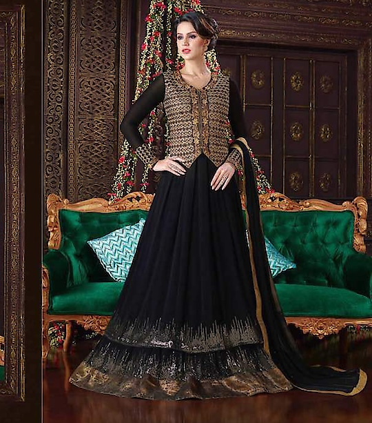 Product Price :- 1849 https://www.zeelshops.com/shop.php?pid=646&pname=Black-Color-Georgette-Embroidery-Semi-Stitched-Salwar-Suits Contact as For more Details 9924430008 or whatsapp  #saree #salwar #salwarkameez #salwarsuit #salwarsuitonline #salwar-kameez #dressup #wedding-dress #wedding #wedding-suits-designer #wedding-lehnga