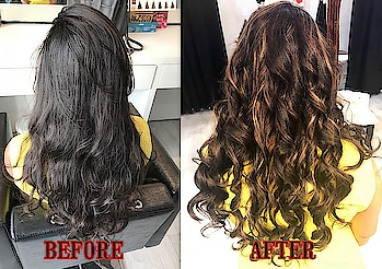 MY FIRST HAIR COLOR EXPERIENCE AT MAKEUP FOREVER STUDIO, LUCKNOW  Hey everybody, how's it going? Christmas in Lucknow was amazing and I'm prepping to welcome the new year in full swing with my mains. Well, the year 2017 has been crazy for me. With so many additions and changes in life, it's been a great year so far! And if you've been following me on my social media all this while you must know I've recently got a permanent tattoo done which has brought in a lot more confidence in my personality. Along with that, I've been flaunting my new hair too.  I've been lucky enough to have received compliments for my natural waves in the past years, but with time I myself started getting bored of the same style. It's been long that I'd been thinking about getting a visible transformation done to my hair. Like really, 24 years and it's the same usual mane falling long and short since forever. Adding some highlights seemed one of the easiest and the most attractive ways to bring in a change! I've been told a gazillion times, coloring hair would add to my hair fall problem, but I finally managed to make up my mind one final day. It was definitely a hard decision, but I just had to take a chance.   While scrolling through my pinterest feed one night, I stumbled upon a picture of gorgeous hair with double streaks in blonde and burgundy. I saved the image and sent it to Ishita Sood, who recently launched her new salon - Makeup Forever Professional at Eldeco Greens, Gomti Nagar, Lucknow. The pretty girl came to my rescue. Though with some hesitation initially she asked me if I'm sure to get the experiment done, and I without second thoughts said, 'absolutely'. Next day, I was at her studio and we began the process. Scroll down to read a stepwise procedure that my hair underwent..  Step 1 : Gentle hair wash. Step 2 : Complete Hair Dry. Step 3 : Wrap desired sections of hair in foil & apply color with flat brush. (1st round of color no. 1 - Loreal 'blonde' mixed with 30% developer) Let the hair color stay for about 30 minutes. Once all the streaks are colored and covered with foil, your head looks like this. Almost like a zombie's! Step 4 : Remove the foil and wash hair with conditioner. Step 5 : Completely blow dry all hair before applying the second round of color no.2 Step 6 : Wrap desired sections of hair in foil & apply color with flat brush. (1st round of color no.2 - Matrix 'burgundy' mixed with 30% developer) Step 7 : Remove the foil and wash hair with conditioner. Step 8 : Completely blow dry all hair and set accordingly (I chose curls for mine).  So, that's how my final hair look like after the curls done - fun and lively! I usually avoid using heat products but temporary curls with rod makes the double streaking stand out perfectly. You can clearly notice the visible streaks of both blonde (more prominent though) and burgundy! PS : Get the strength of your hair checked before using blonders.  This entire hair color procedure with double highlights (for medium to long hair), using the foil technique costs Rs. 5000/-  I can vouch for the quality of products and services since I've got it done myself. So, if you're looking for a hair transformation for new year, MAKEUP FOREVER STUDIO by Ishita Sood has many treats for you!  #pickeratpace #indianblogger #lucknowblogger #beautyblogger #haircolor #hairtransformation #blondehair #burgundyhair #lucknow #lifestyleblogger
