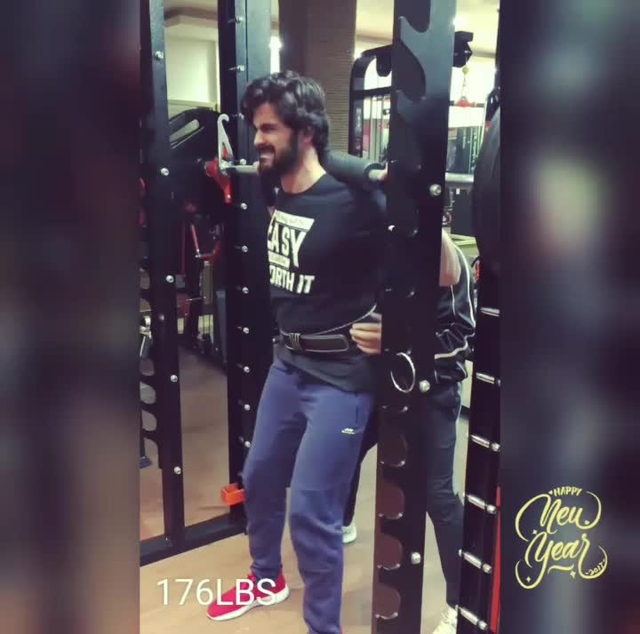 Strength does not come from physical capacity. It comes from an indomitable will.  #inshot #bearded #winter #blur #fitfam #easy #instamood #amazing #style #nocrop #squats #strength #beginner