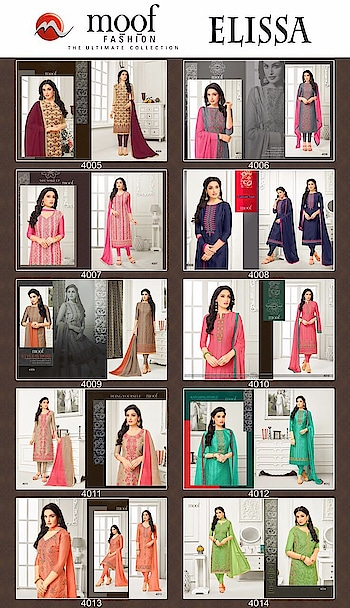 MOOF ELISSA  #KASHMIRIWORK #Heavyworksuit #cottonsuit #straightsuit  Contect for Order or More Info.: Whatsapp :+91 7874482383 Email: textilebazar456@gmail.com Email : bansi.textilebazar@gmail.com