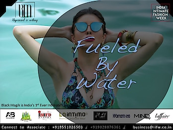 Fueled by water...check out India's amazing beach wear lines showcased in Black Magik, India's 1st Ever Intimate Fashion Calendar by IIFW. Its is all set to make the new year even more Hotter with Finest Designers, Brands and the crew made this ultra fashion extraordinaire happen. Feel Free to get in touch with us for details to associate, sponsor, participate. +918551026503 / +919028076361 / business@iifw.co.in #BlackMagik #BlackMagikByIIFW #Calendar #IndiasFirstEver #LookBook #IntimateFashion #Lingerie #SwimWear #ResortWear #BeachWear #CruiseWear #ShapeWear #Fashion #InnerWear #IntimateWear #FashionCalendar #HighFashion #BooTheTaboo