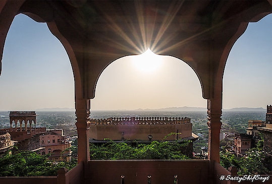 Travel Back to The 15th Century With Neemrana Fort Palace  If you are looking for some awesome weekend getaway options that are not mundane and are just a drive away from Delhi, then the Neemrana Fort Palace situated along the Delhi-Jaipur highway will blow you away. It is just 122 kms away from Delhi and 150 kms from Jaipur. A royal holiday set against the beautiful Aravali mountains awaits you at the Neemrana Fort Palace in Alwar which is also home to some of the best monuments of it's time.  Full Article - http://www.sassyshifsays.in/neemrana-fort-palace/