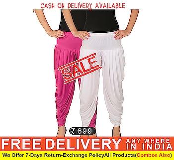 Pack Of Stylish Dhoti Pants on #Zinnga https://goo.gl/XjKzgi for order cintact What's app +91 - 9246261661  #DhotiPants #stylish #fashion #nicelooking #newarrival #zinnga