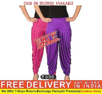 Pack Of Stylish Dhoti Pants on #Zinnga https://goo.gl/MzUcLz for order cintact What's app +91 - 9246261661  #DhotiPants #stylish #latest #fashion #zinnga