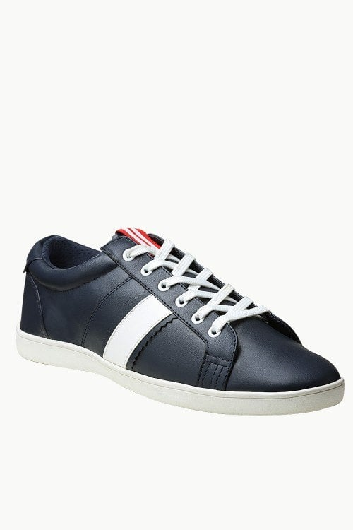 Solid Faux Leather Plimsolls - Just Rs.1,649.00/- Only at #zobello    Shop Now @ http://bit.ly/2CYQhCY  #sneakers #sneakers for men