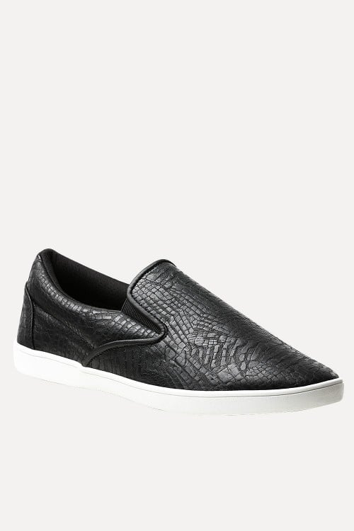 Faux Leather Loafer Plimsolls - Just Rs.1,399.00/- Only at #zobello   Shop Now @ http://bit.ly/2fqARgF  #loafer_online
