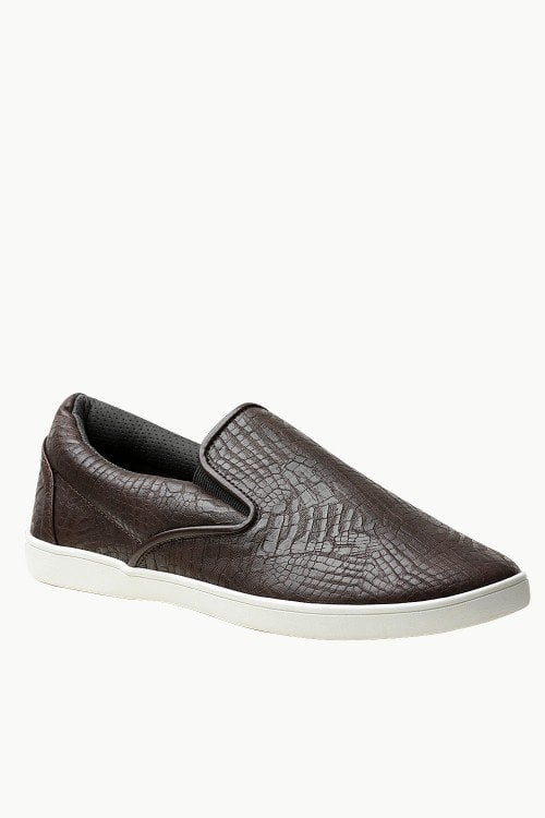 Faux Leather Loafer Plimsolls - Just Rs.1,399.00 /- Only at #zobello    Shop Now @ http://bit.ly/2zdudSp  #loafer_shoes_online_in_india