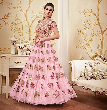 Be a princess, when you wear this Designer suit that will wow all around you !!  💕😍😊😉 . . Get Storewide 30% OFF  Use Coupon :- 2k18 Follow us :- Nallu Collection . . #dress 💃 #pink #love #lovepink 💗 #pinklover #skirt #shoes #heels #styles #outfit #purse #jewelry #shopping #photography 😉 #wedding #india #jewellery fashionista #bride #desifashion #traditional #bollywoodfashion 💖 #wedding #nallucollection #festive #Bollywood #bridaldesign #Punjabiwedding #sale #newyear 💕 . . Check out the link in Bio!