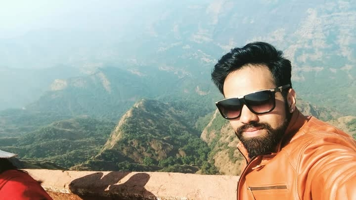 #nature #beauty #mountains #greenery #heaven #valleys #landscape #view #photography #video #enjoy #life #fun #solotravel #new #experience #beard #beingme #love #maharashtra