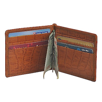 Mandava Genuine Croco Printer Leather Money Clip Wallet #roposo  #leather  #leatherwallet  #wallets  #brown #new_style  #ropo-style #moneyclipper  #fashiondaily  #indian  #styles  #casual