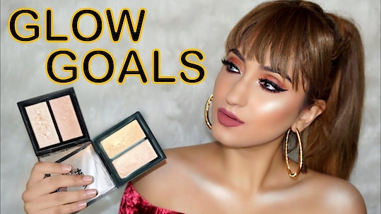 NYKAA GLOW GETTER HIGHLIGHTERS! REVIEW + SWATCHES  #makeup #ootd #ootn #heels #kyliejenner #beauty #indianyoutuber #outfit #indianvlogger #outfitoftheday #novababes #vlogger #style #roposolove #soroposo #haul #nofilter #selfie #happy #smile #fashion #fashionblogger #blogger #stylist #best #beautiful #love #fashionnova #new #shoes