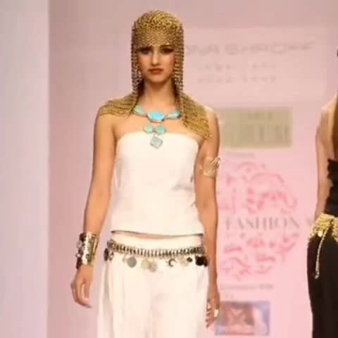 #Flashback #Memories! One of many #fashion #shows #monashroffjewellery @shroffmons #monashroff