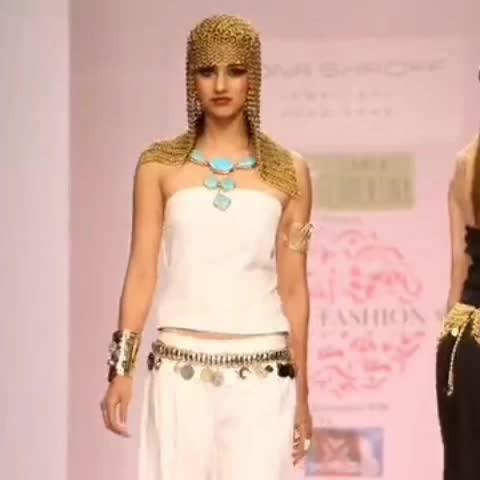 #Flashback #Memories! One of many #fashion #shows #monashroffjewellery @shroffmons #monashroff