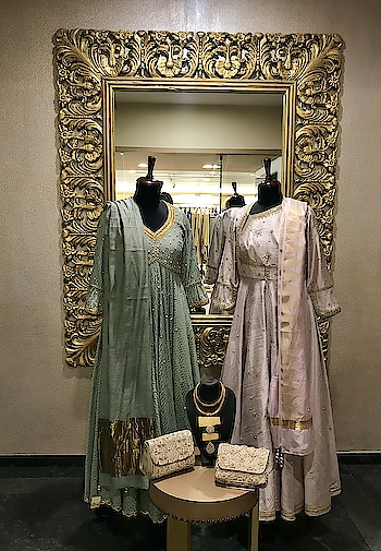Kick start 2018 with traditional, classy Kurta sets in intricate hand embroidery!!  Perfect pick for this wedding and festive season showcasing now Deval The Multi Designer Store!!! For more details please call us +91 98984 22000 #stylish #designerwear #designercollection #garments #clothing #womenswear #multidesignerstore #designeraccessories #dresses #skds #kurtas #devalstore #ahmedabad #newcollection #latestcollection #devalthemultidesignerstore #luxurydesigner