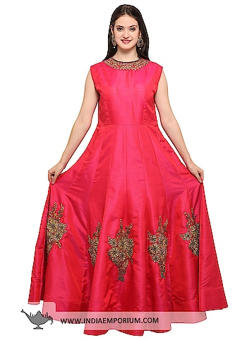 Fantabulous Pink Mastani Silk Embroidered Party Wear Gown with Net Dupatta  @@@ https://goo.gl/NbE2uq  #ilovewinters #myjam #menonroposo #bae #designer #tamil #wednesdaywoot #humpday #dance #beauty #life #look #bindass #youtuber #mylifemychoice #indian #food #music #black #soulfulquotes #fashionblogger #cute #hahatv #celebration #roposolove