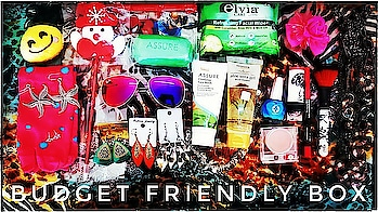 Budget Friendly Box January 2018 | Starting Rs. 120 | Unboxing & Review | 22 Full size Products @999  January Budget Friendly Box has again sent a lot of products including Skincare, Makeup, Jewellery and Lifestyle Accessories. They have boxes starting from a super affordable price tag of just Rs. 120 and goes upto Rs. 999. I have done a review of their higher end box this time, so as to give you all an idea about what to expect. I liked that they have kept the pricing very realistic in the info card and still there is a lot of savings. If you are someone who wants to receive a lot of products at an budget price i.e your priority is quantity, then this is the Box for You! 💸 Please watch the full unboxing and review video on my channel now ❤ Link in bio! 💸 To order this Box : DM on Instagram : https://www.instagram.com/budget_friendly_box/ Or Contact : 9086310097 Discount code : SONAM5 💸 #budgetfriendlybox #budget_friendly_box #january #beautybox #affordable #subscriptionbox #subscriptionreviewer #beautysubscription #makeup #skincare #jewellery #lifestyle  #youtuber  #unboxingandreview #discoveringsubscriptions #sonammahapatra