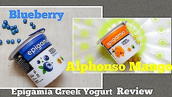 Epigamia Greek Yogurt - Blueberry & Mango I Review I just4fun.jannathff I jff . roposome #roposobeauty #roposobeautyblogger #roposoyoutuber #roposolike #roposotalks #healthy #healthyeating #roposoindia #roposoblogger #roposobeautyinfluencer #beauty #cosmetics #partytime #newyear #happyfaces #lookgoodfeelgood #yoghurt #lookgoodfeelgood #roposogal #blueberry #flavoured