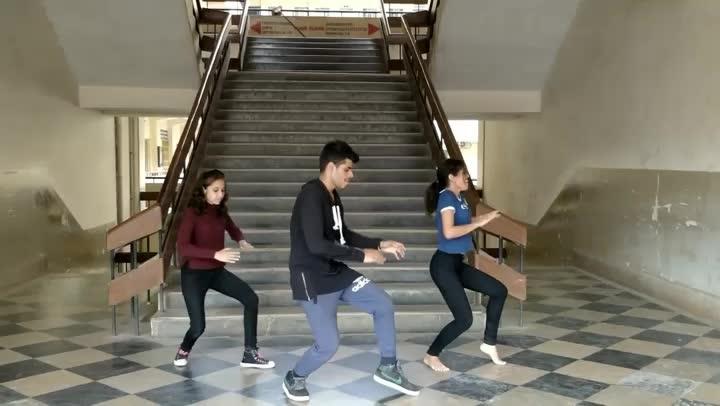 Passionate college students slaying it wonderfully on #Ghoomar!  Dance: Shubam, Pragathi, Sakshi Styles: #Freestyle #Hiphop #Bollywood Song: Ghoomar | Padmaavat  For more dance videos download @danceninspire app (App link in bio)  #ghoomar #ghoomarsong #padmavati #padmavat #padmaavat #dancecover #dotheghoomar #collegestudent #dancers #videooftheday #deepikapadukone #shahidkapoor #ranveersingh #dancegoals #danceinspirations #dni #danceninspire