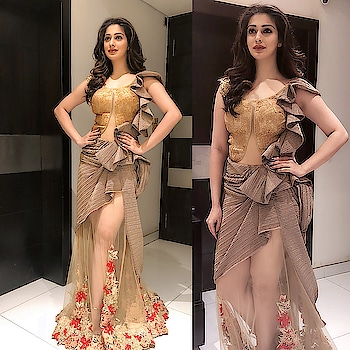 Raai Laxmi dolled up in Rohit Verma creations for  Society Awards event. Styled by : Nischay Niyogi #raailaxmi #lakshmirai #southindianactress #kannadaactress #malayalamactress #bollywoodactress #rohitverma #nischayniyogi #indianactress #indianmodel #indianfashion #indianstyle #actressdress #actressfashion #actressstyle #fashion #style