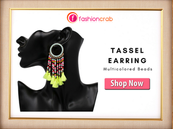 Going shopping with your boyfriend? Match your short skirt or jumpsuit with these #tassel #earrings. Enjoy your day 😍😍 and make your beautiful moments memorable.  Get Now @ https://buff.ly/2mn7vSP  #tasselearrings #jewellery #fashion #photoftheday #instagood #likeforlike