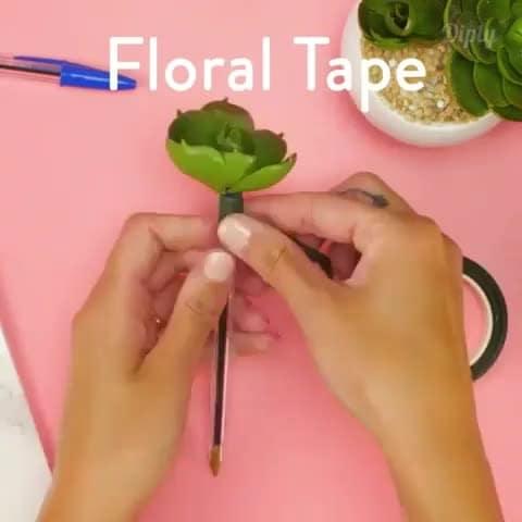 #VIDEO #flowers #decoration #pen #creative #wood #love #flowerpot #idea #cactus #plant #cactuslover