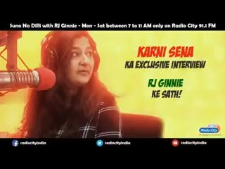 Heard this on FM today. When RJ Ginnie spoke to Karni Sena supporting the kshatraniyan conducting #Jauhar #NationSpeaks #ShareThisVideo